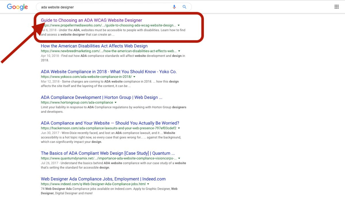 SEO Search Engine Optimization in SERP